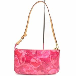 Vernis Ikat Pochette Accessories NM Rose Velours